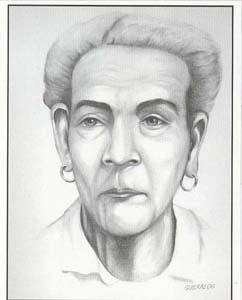 Кубинский патриот Антонио Гереро, находясь в американской тюрьме, сделал портрет Марианы Грахалес.